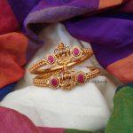 Beautiful Antique Lakshmi Kada Bangle