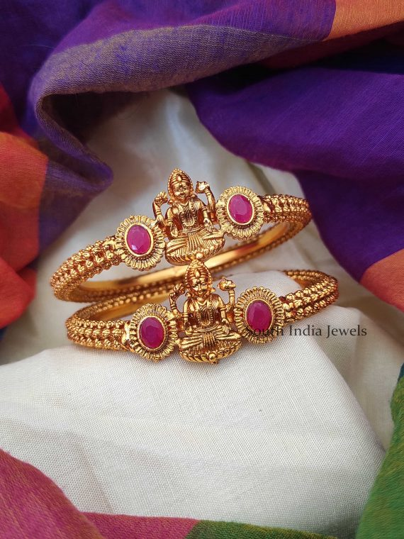 Beautiful Antique Lakshmi Kada Bangle