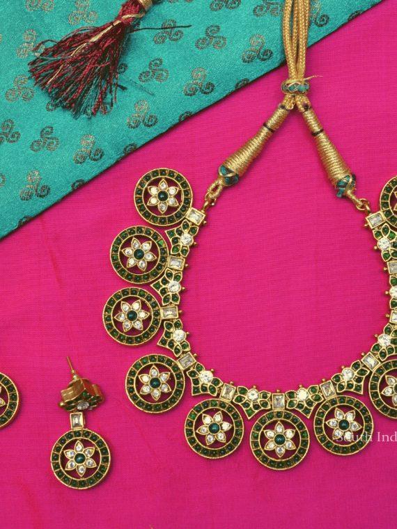 Beautiful Chakra Design Necklace Set