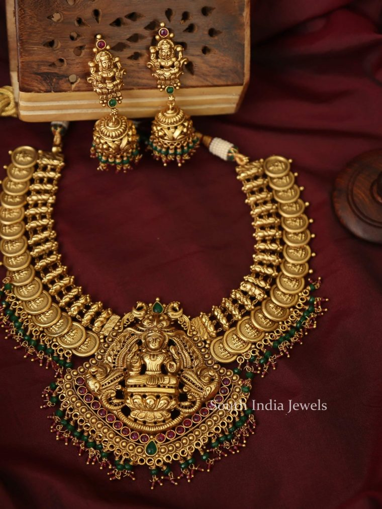 Beautiful Lakshmi Coin Necklace