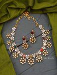 Beautiful Navarathna AD Stone Necklace