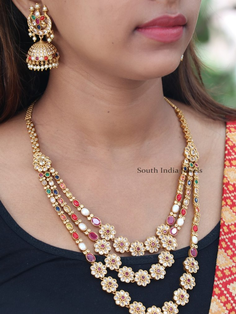Beautiful Navarathna Necklace