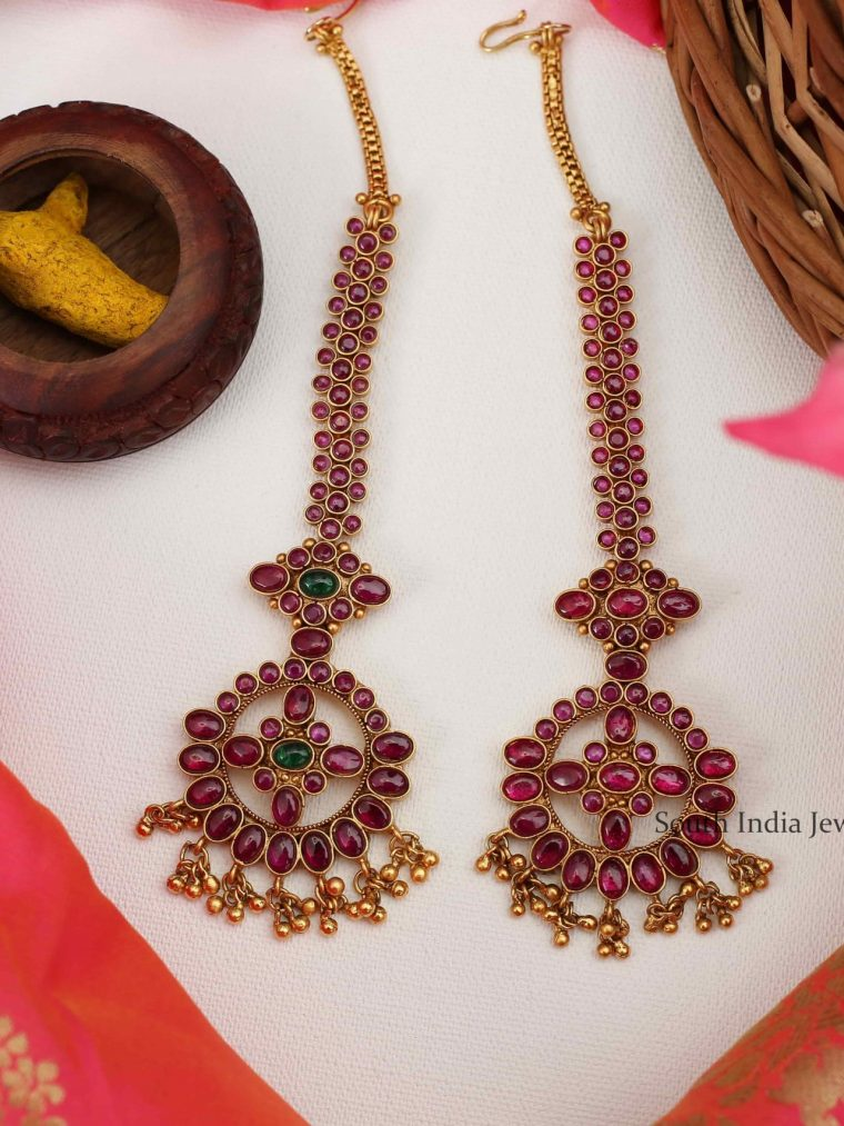 Bridal Wear Imitation Maang Tikka