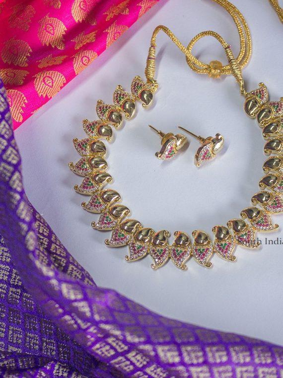 Elegant American Diamond Necklace