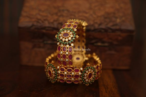 Grand AD & Kemp Stone Designer Bangle