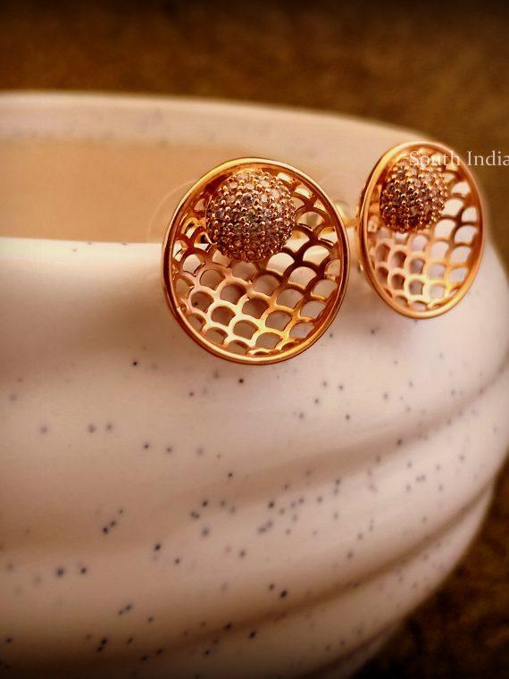 High Quality Matte Finish Jhali Ear Studs