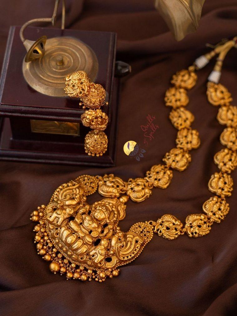 Imitation Nagas Haram with Earrings-01