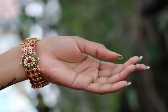 One Gram Gold Kada Bangle -01