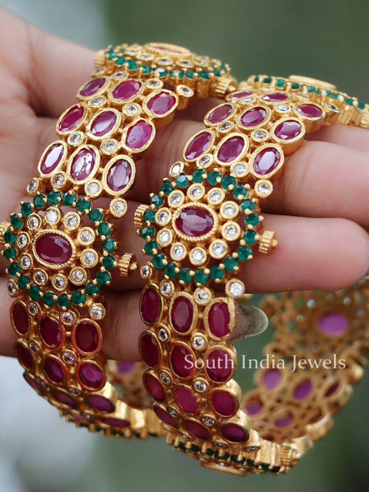 One Gram Gold Kada Bangle