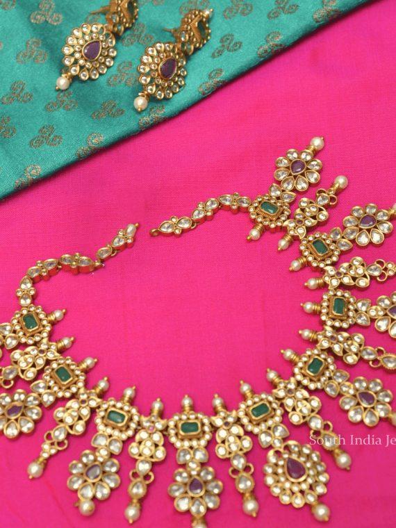 Premium Quality Multi Stone Necklace