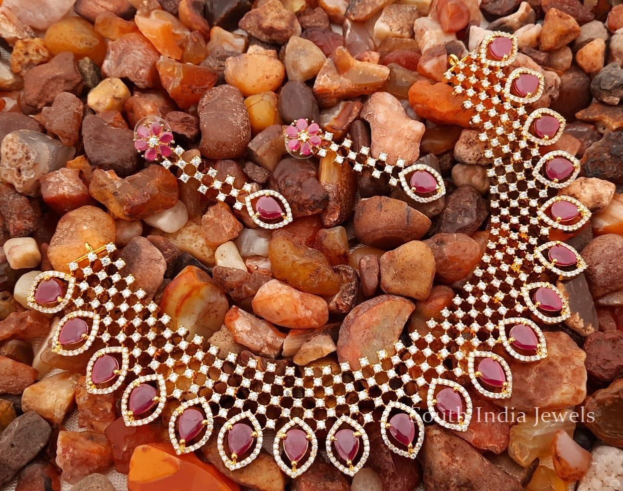 Pretty-Designer-Diamond-Alike-Necklace