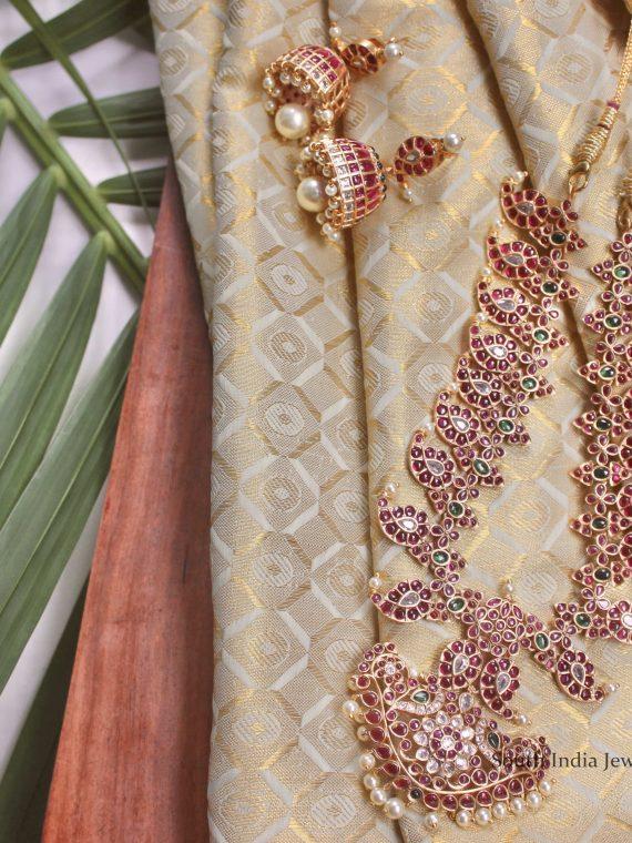 Pure Kemp Mango Design Necklace-03