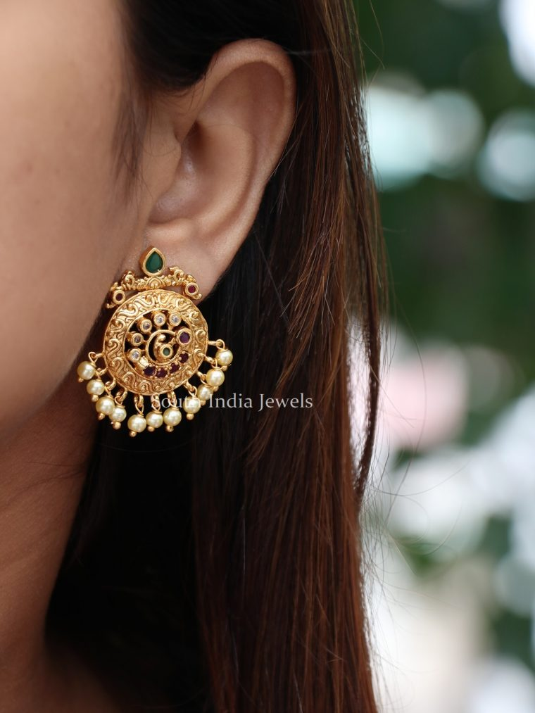 Simple Chakra Design Ear Studs