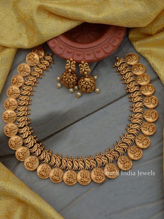 Simple Lakshmi Coin Necklace
