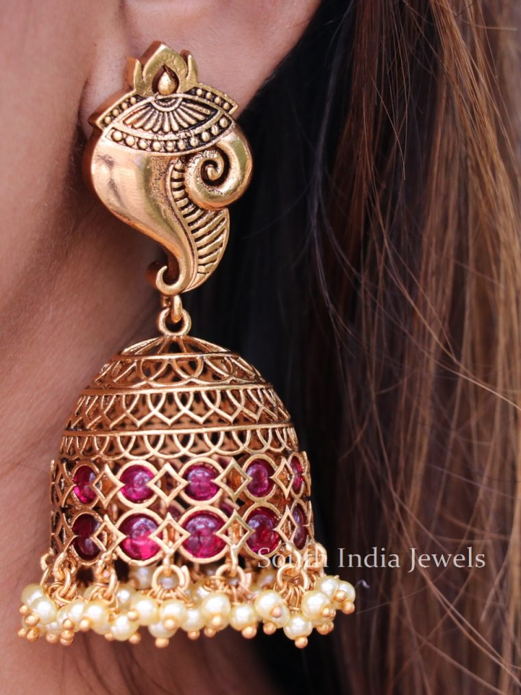 Statement Shankh Jhumka-01