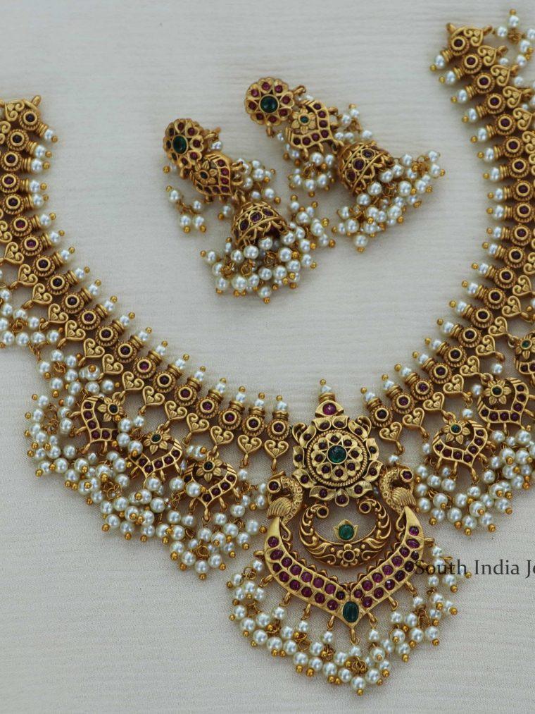 Stunning Guttapusalu Necklace-02