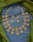 Stunning Ram Parivar AD Necklace