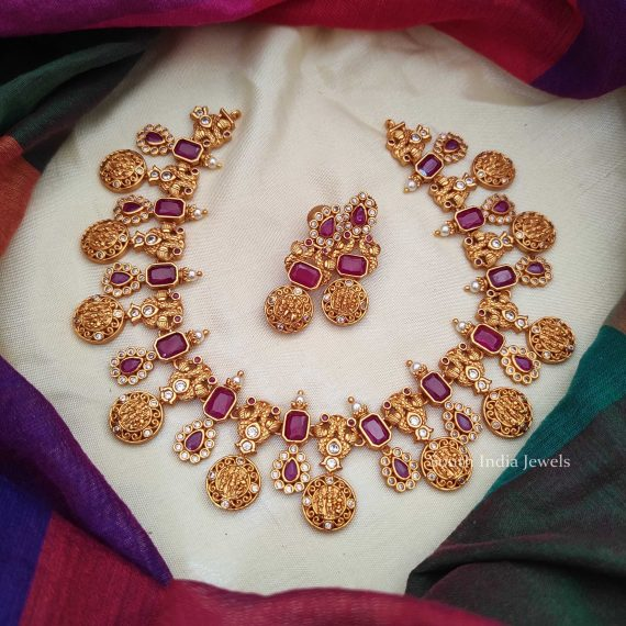 Stunning Ram Parivar Necklace