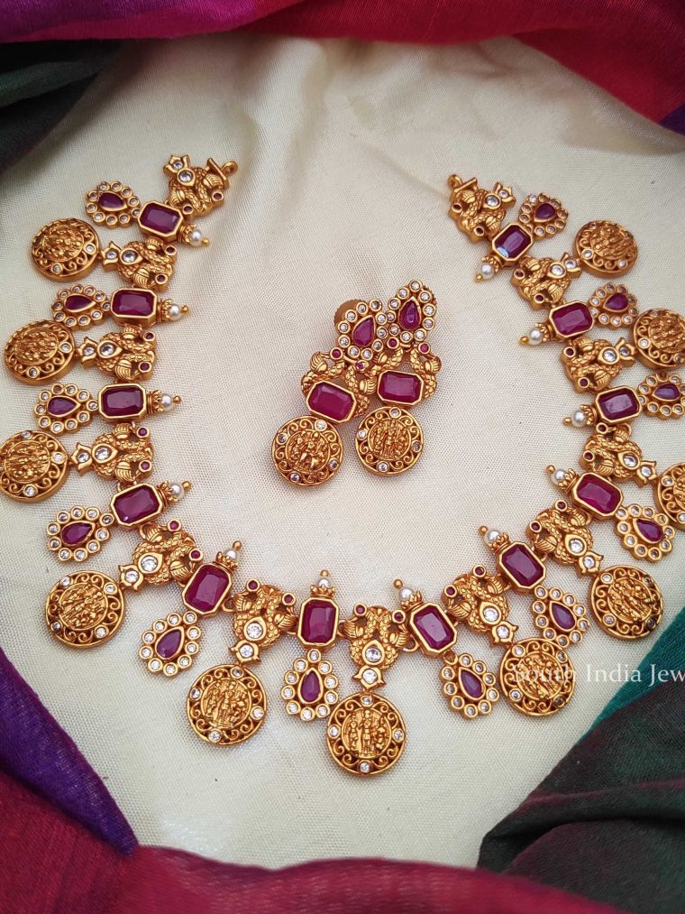 Stunning Ram Parivar Necklace