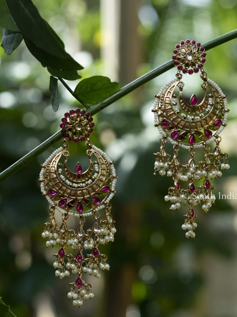 Traditional Chandbali Designer Earrings
