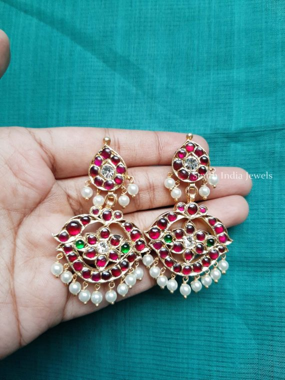 Traditional Real Kemp Designer Earrings