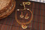 Unique Kemp Attigai with Pearl Necklace