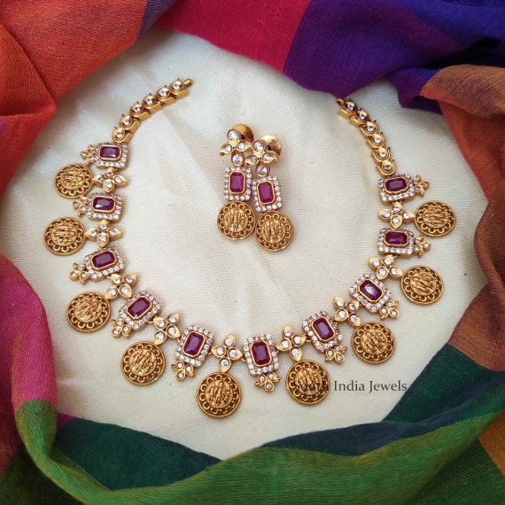Unique Ramparivar Necklace with Earrings