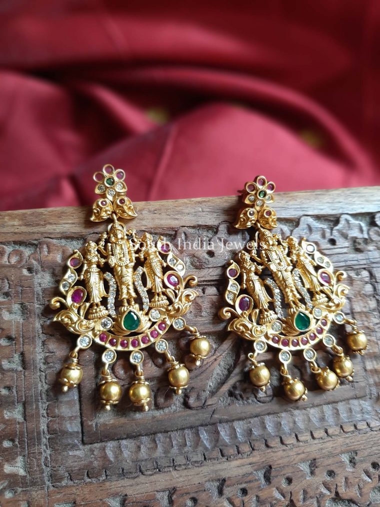 Unique Venkatachalapathi Earrings