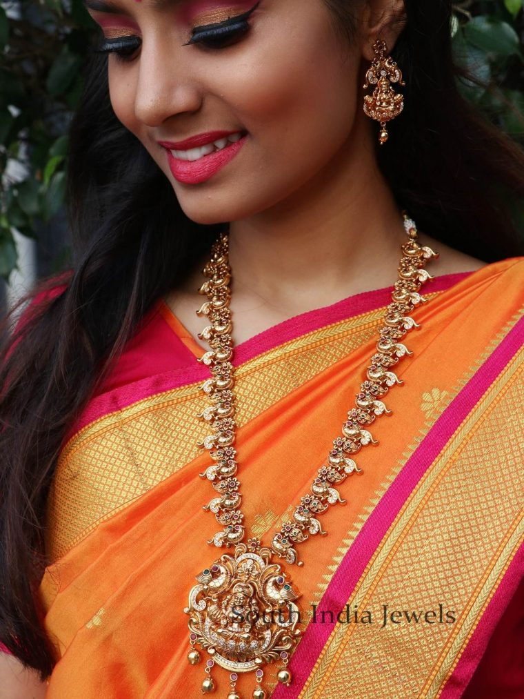 Antique Bridal Lakshmi Necklace