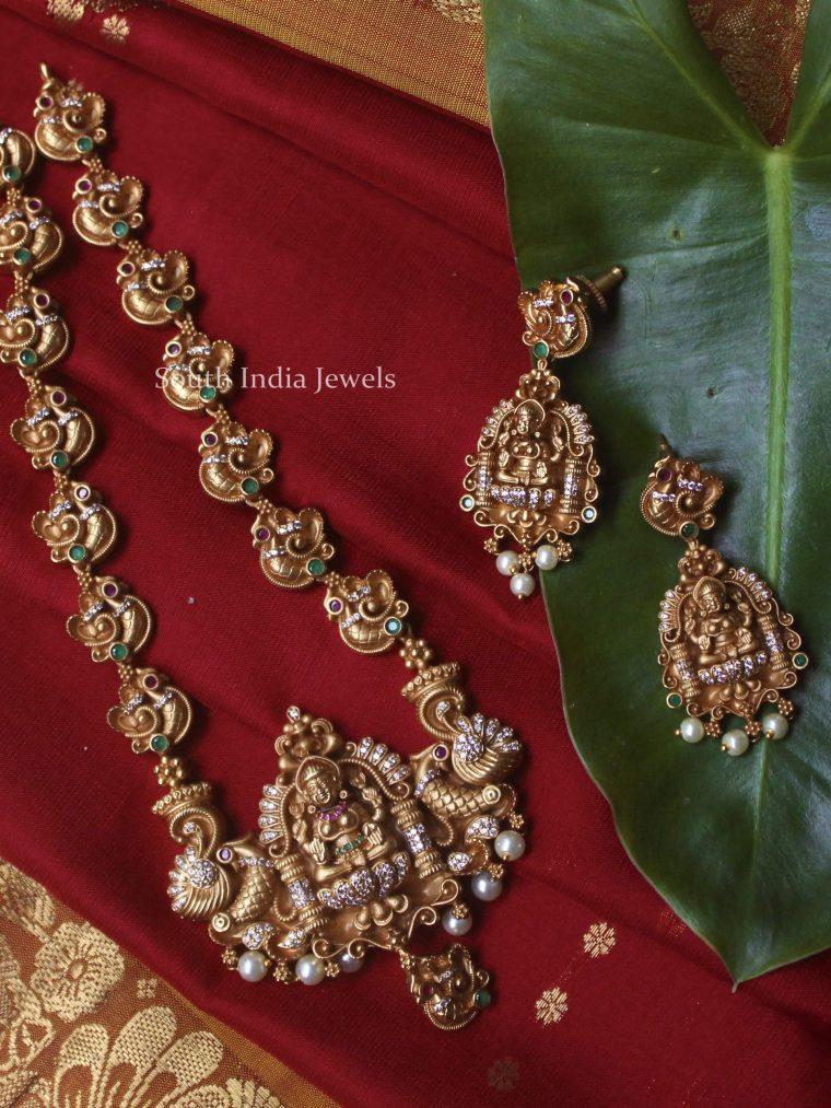 Antique Lakshmi Annam Haram (3)