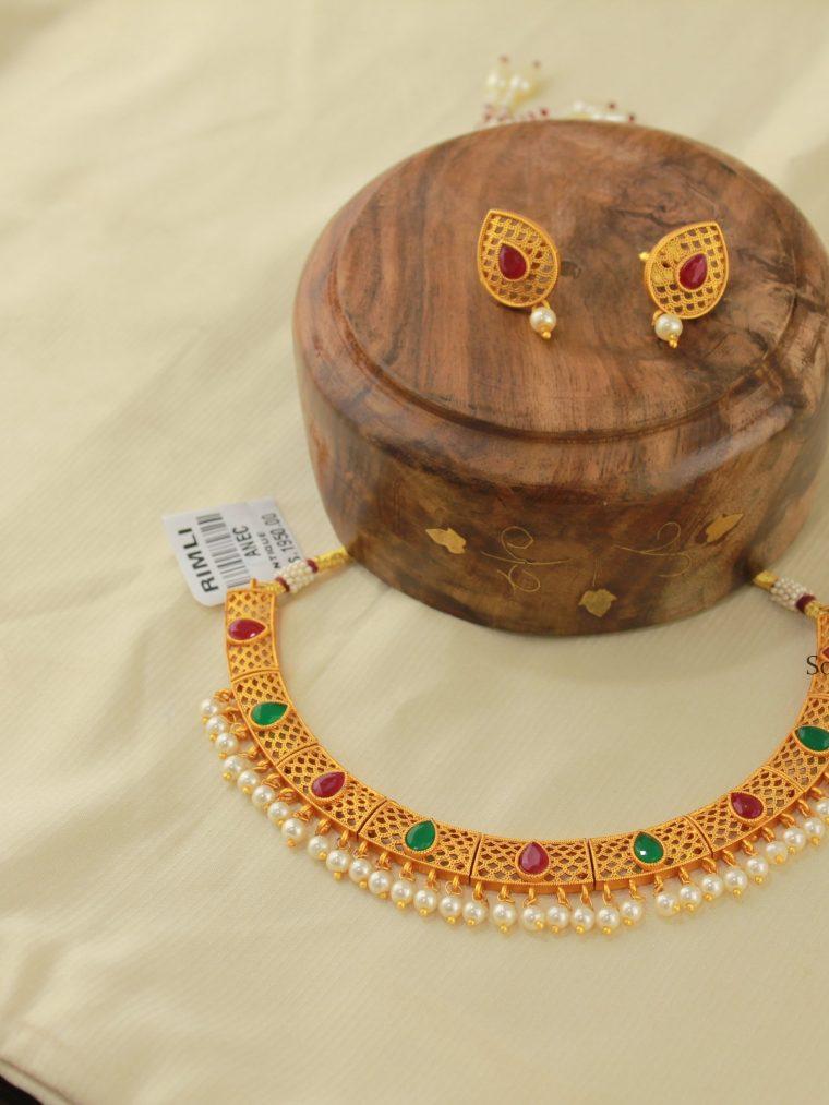 Antique Matte Finish Necklace