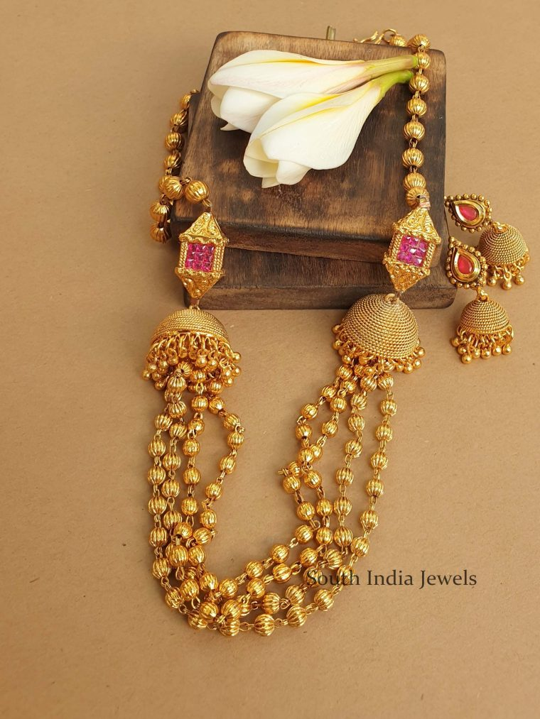 Beautiful Antique Beads Necklace