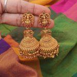 Beautiful Antique Lakshmi Earrings