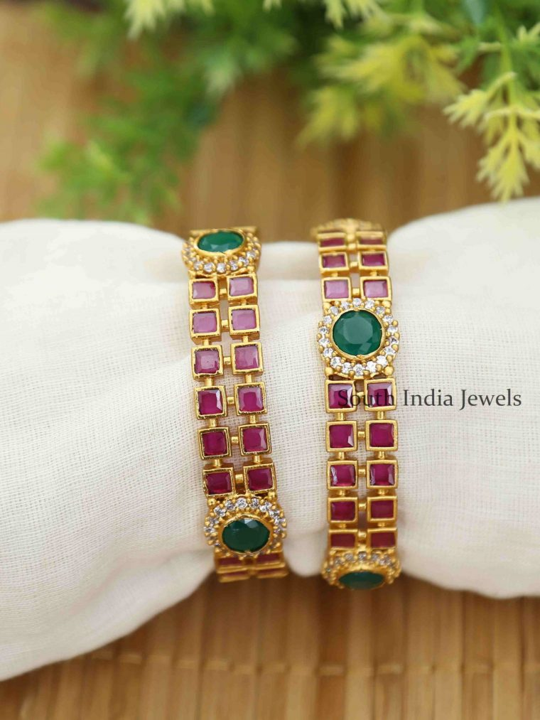 Beautiful Designer Kemp Bangles - 1