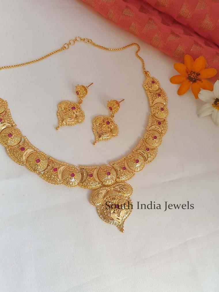 Beautiful Gold Look Alike Necklace
