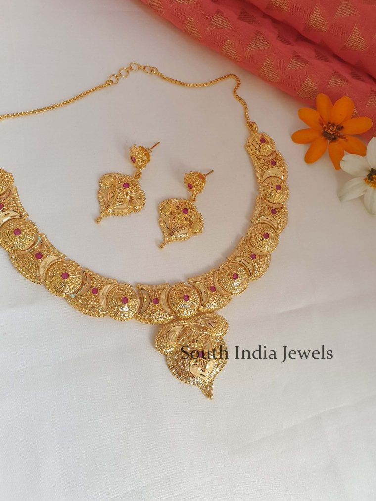 Beautiful Gold Look Alike Necklace