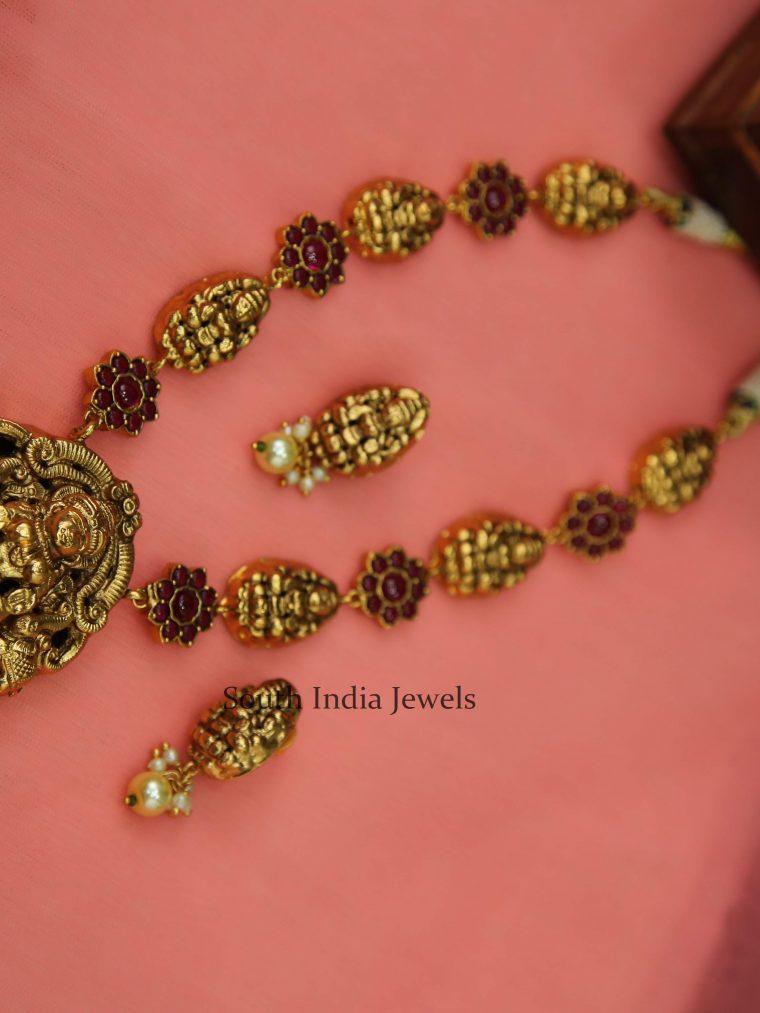 Beautiful Lakshmi Matha Necklace