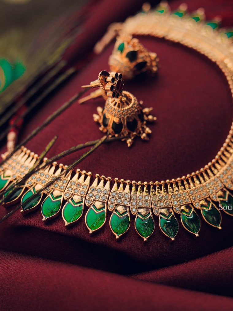 Beautiful Nagapada Necklace-01