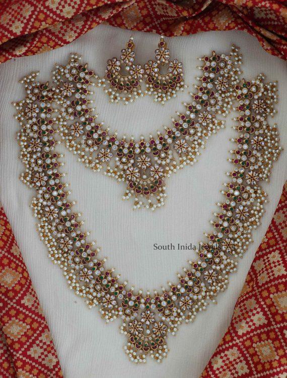 Bridal Chandbali design Guttapusalu Combo