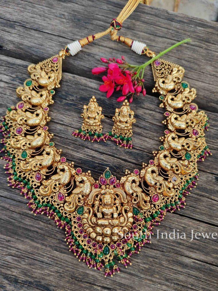 Bridal Lakshmi Necklace