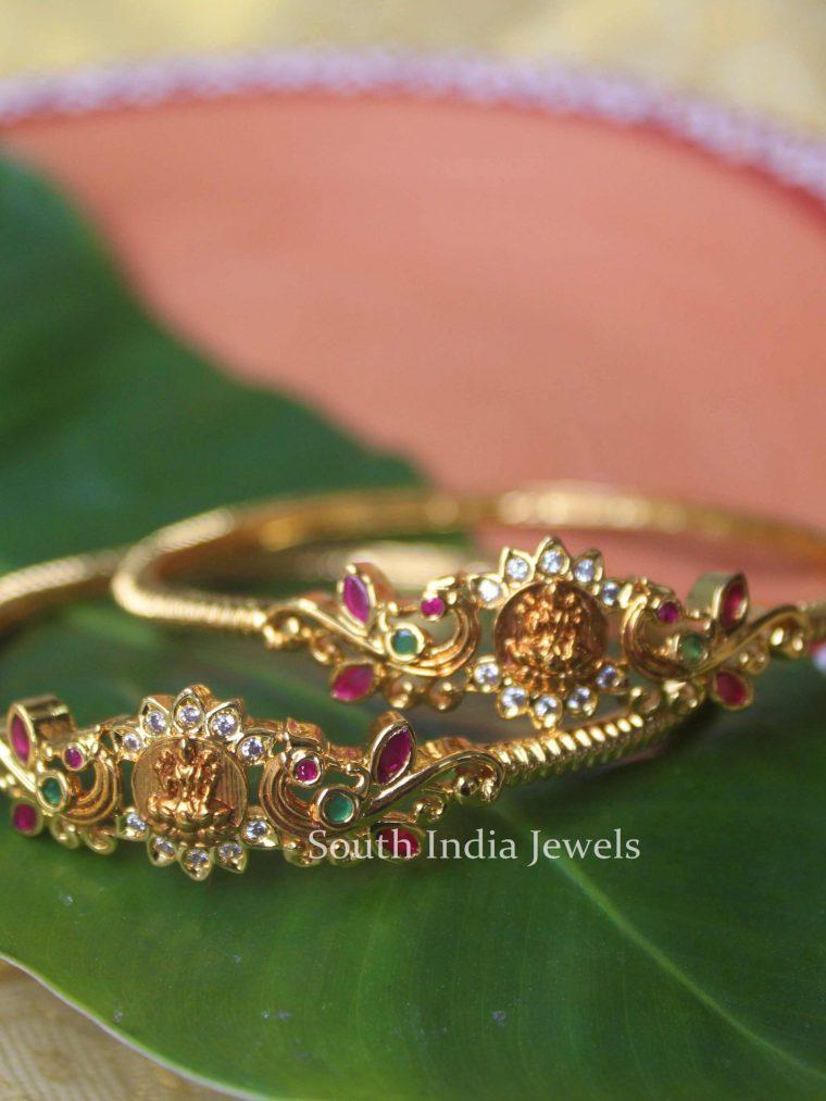 Classc Lakshmi Peacock Design Bangles
