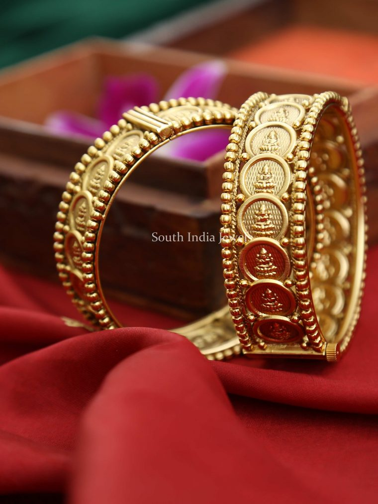 Classic Lakshmi Coin Bangle (2)