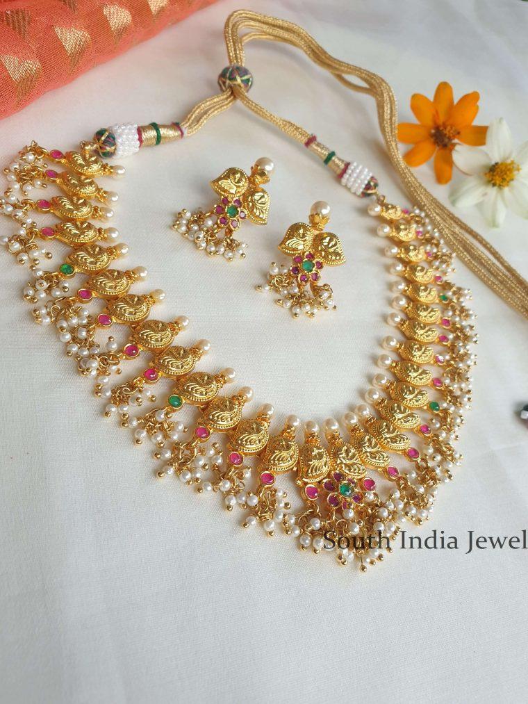 Classic Ruby Guttapusalu Necklace (2)