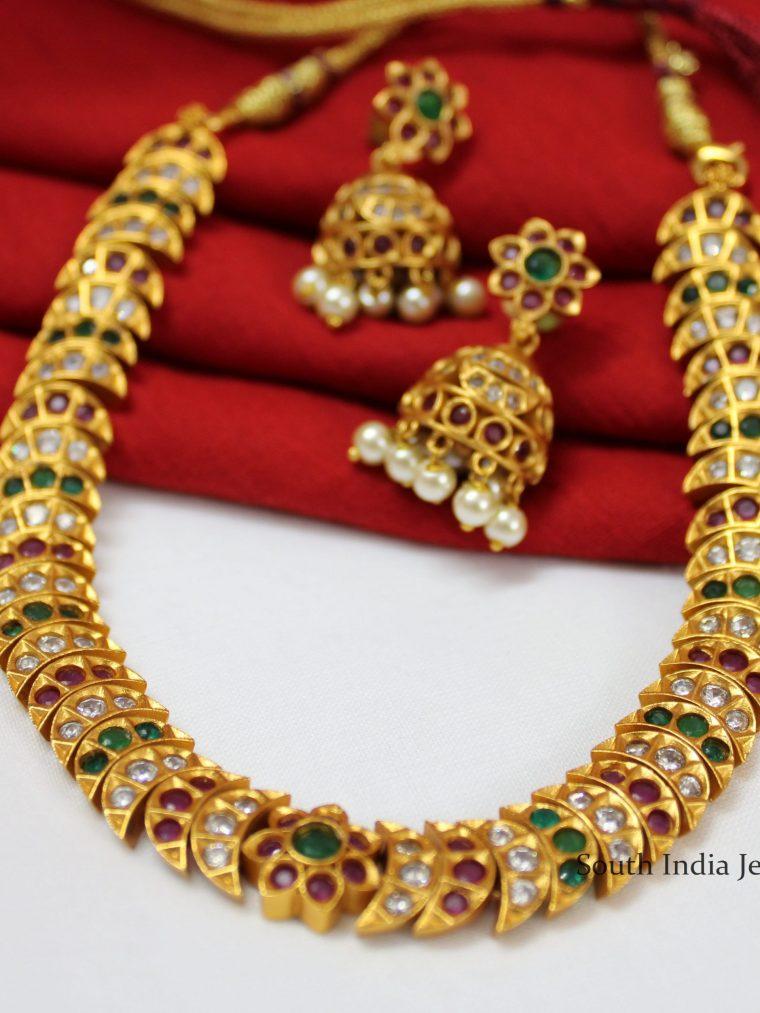 Elegant Attigai Necklace Set