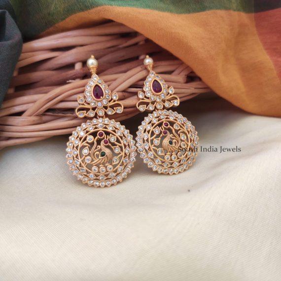 Elegant CZ Matte Earrings