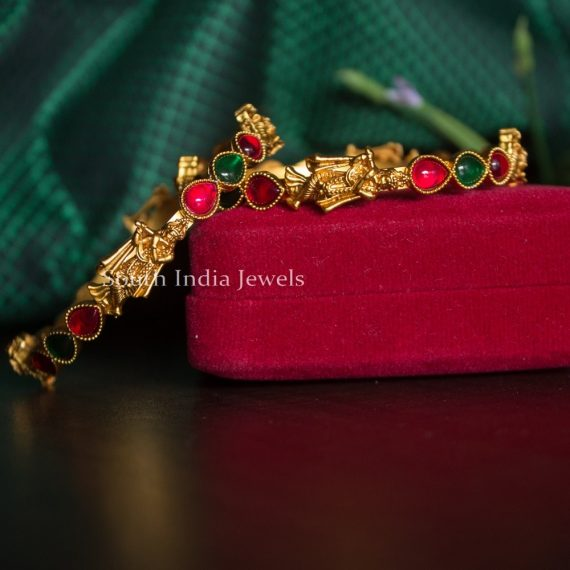 Elegant Krishna Multi Stone Bangles