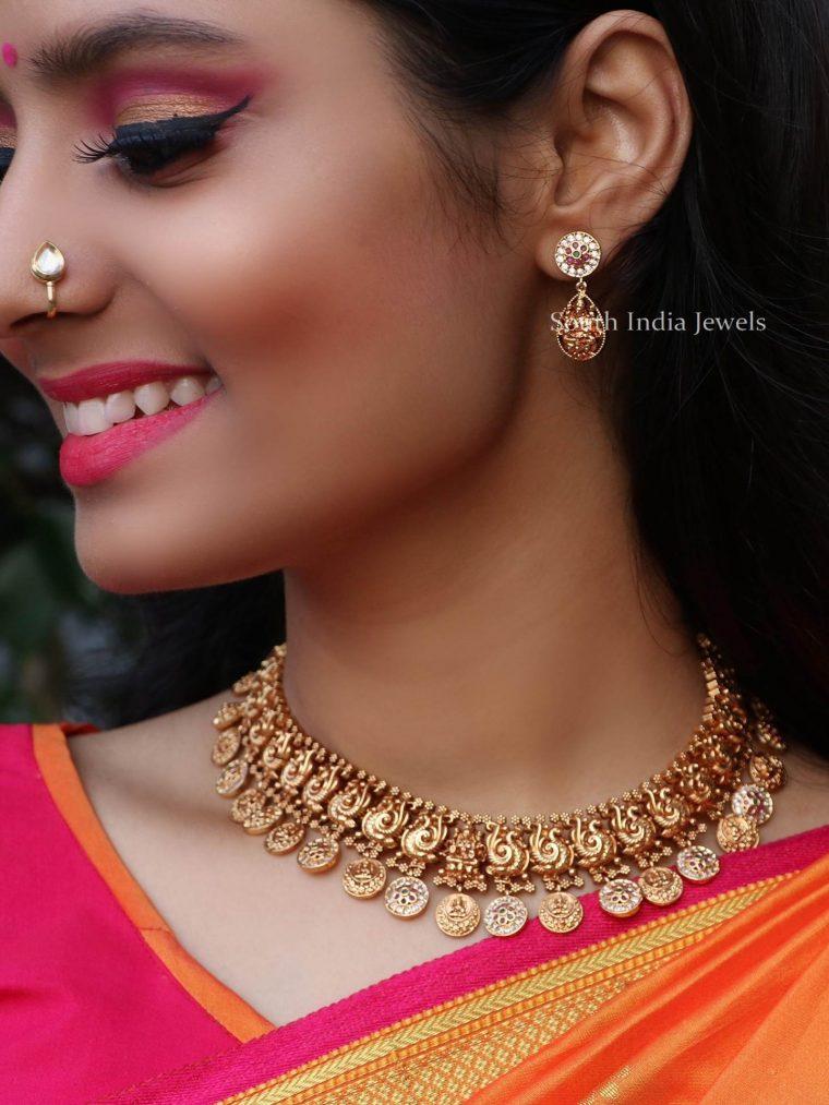 Elegant Peacock Design Necklace