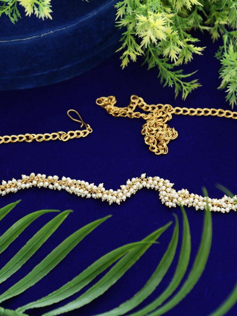 Elegant Pearl Hip Belt