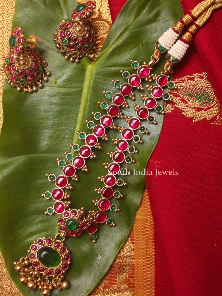 Elegant Ruby Necklace (2)