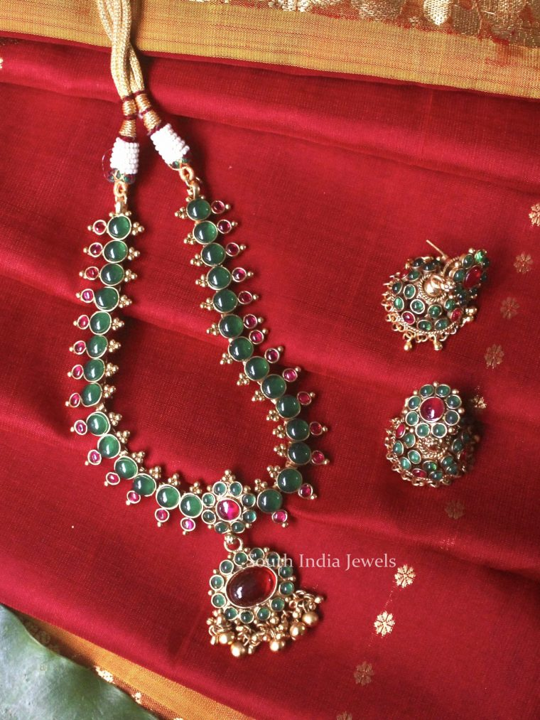 Gorgeous Green Ruby Necklace